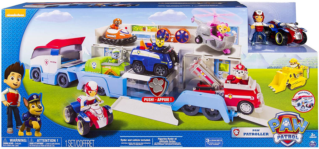 Paw Patrol - Paw Patroller with Ryder & ATV - Full colour display packaging