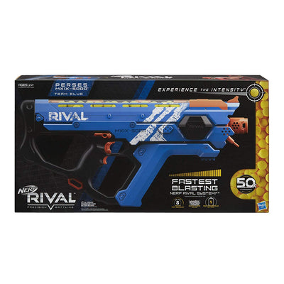 Nerf Rival - BLUE PERSES Mxix-5000 - Fastest Blasting System