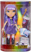 RAINBOW HIGH -  Rainbow Surprise 14 inch Doll 35cm - Amethyst Rae Doll wit DIY Slime Fashion