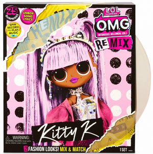 L.O.L LOL Surprise - REMIX OMG - Kitty K with 25 surprises