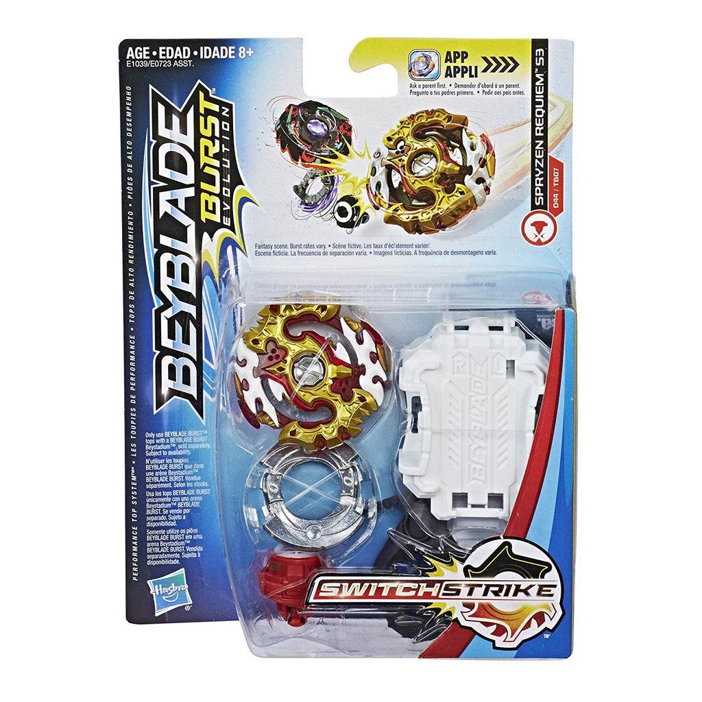BeyBlade Burst Evolution - Spryzen Requiem S3 - SWITCH STRIKE STARTER PACK