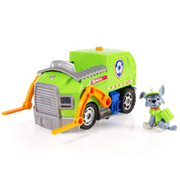 Paw Patrol - Rocky's Lights and Sounds Recycling Truck & Figure - LARGE VERSION