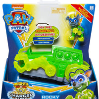 Paw Patrol -  CHARGED UP - Set of 6 - Vehicles & pups (Skye , Rocky , Rubble , Marshall , Chase , Zuma)