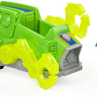 Paw Patrol -  CHARGED UP - ROCKY Vehicle with removable pups chase LIGHTS & SOUNDS