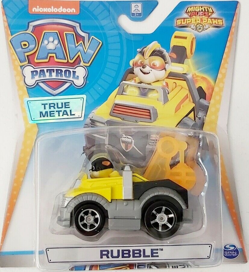 Paw Patrol  - Mighty Pups Rubble diecast car 1:55 scale