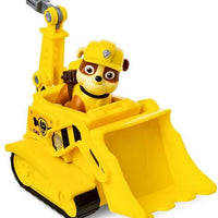 Paw Patrol - ORIGINAL - Rubble Bulldozer Vehicle with removeable Pup