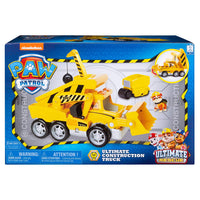 Paw Patrol -  ULTIMATE RESCUE - RUBBLE's CONSTRUCTION TRUCK - MEGA SIZE + Lights and sounds - on clearance