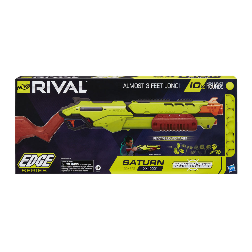 Nerf Rival - Saturn XX-1000 Edge Series Targeting Set, 10 Rounds