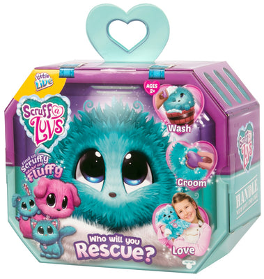 Scruff A Luvs Rescue Pets ~ Little Live Pets ~ BLUE - on clearance