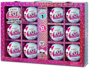 L.O.L LOL Surprise - SERIES 1 - Ultimate Collection DIVA - Case of 12 Dolls in impressive display case