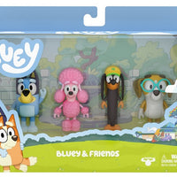 BLUEY - BLUEY 4 pack Figurines - Series 2