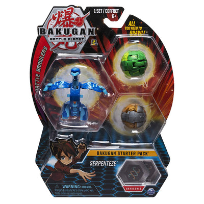 BAKUGAN Battle Planet - SERPENTEZE Starter pack 3 - Pack