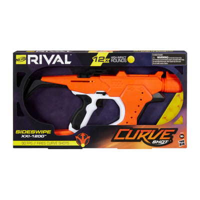 Nerf Rival - Sideswipe XXI-1200 Blaster - Fire Rounds to Curve