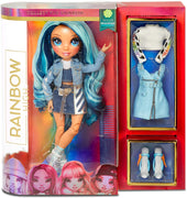 RAINBOW HIGH - SKYLER BRADSHAW - Blue Fashion Doll with 2 outfits