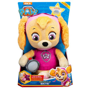 Paw Patrol - Snuggle up SKYE- Lights sounds, phrases Soothing