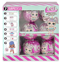 L.O.L LOL Surprise - SPARKLE SERIES  - FULL CASE of 18 DOLLS -ONAHAND