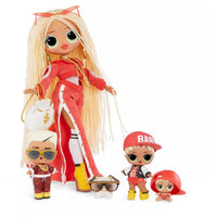 L.O.L LOL Surprise - OMG - SWAG Family - Limited Edition Fashion Doll, Dolls & Pet with 45+ surprises