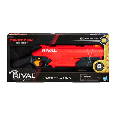 Nerf Rival -  Takedown XX-800 Blaster (pump action)