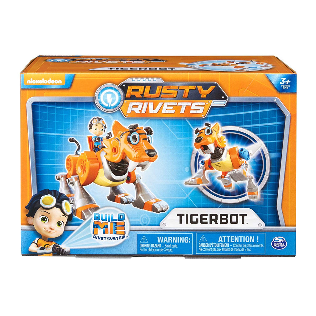 RUSTY RIVETS - Tigerbot Building Set with Lights and Sounds - on clearance