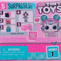 L.O.L LOL Surprise - TINY TOYS Full DISPLAY of 18 Toys / packs (includes display)