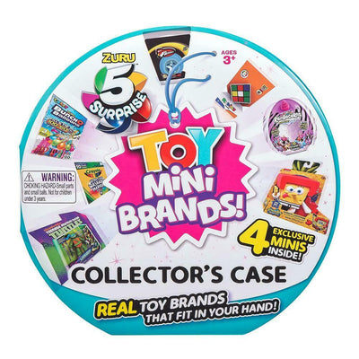ZURU - 5 Surprise - Mini Brands TOYS - collector case