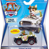 Paw Patrol  - TRUE METAL - TRACKER diecast vehicle 1:55 scale