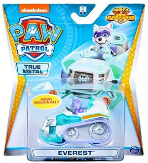 Paw Patrol  - TRUE METAL EVEREST Mighty pups diecast vehicle 1:55 scale