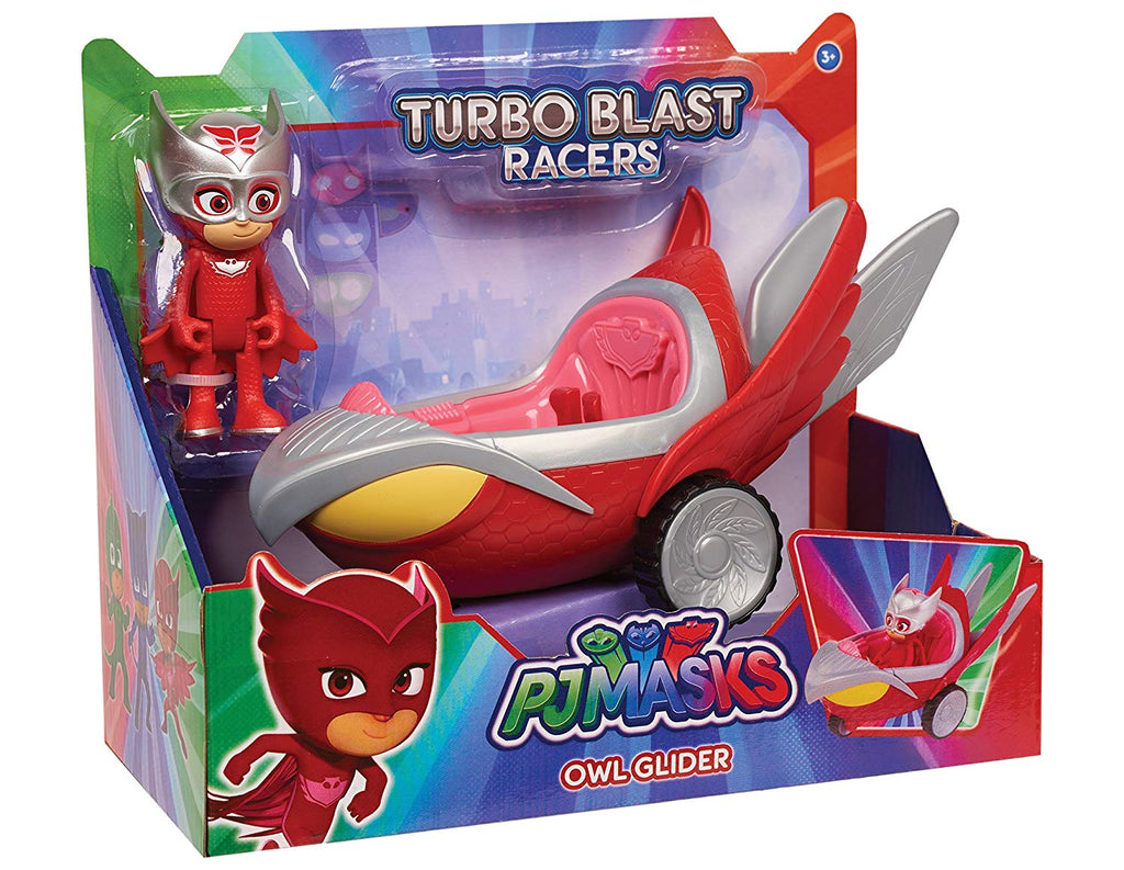PJ MASKS - Turbo Blast Vehicle + Owlette