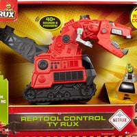 DINOTRUX - TY RUX REMOTE CONTROL with REPTOOL - BIGGEST DINOTRUX TOY