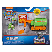 Paw Patrol -  ULTIMATE RESCUE - Rocky's Mini Crane Cart and Rocky