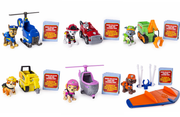 Paw Patrol -  ULTIMATE RESCUE FULL SET of 6 PUPS & ** MINI ** VEHICLES