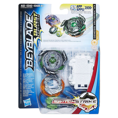 BeyBlade Burst Evolution - NEW Genesis VALTRYEK V3 - SWITCH STRIKE STARTER PACK - on clearance