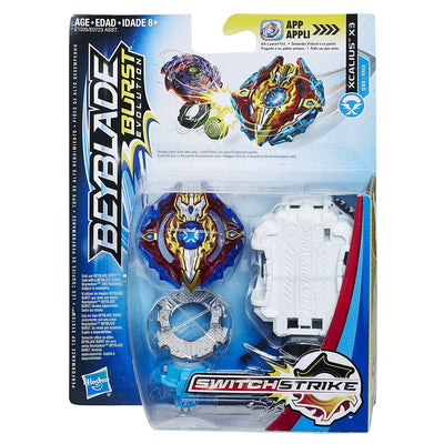 BeyBlade Burst Evolution - XCALIUS X3 - SWITCH STRIKE STARTER PACK