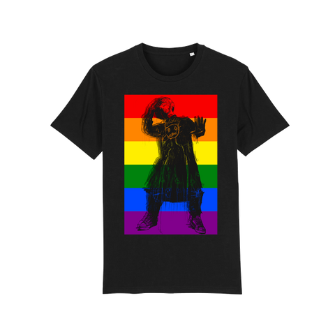 Boy George Pride Black Tee