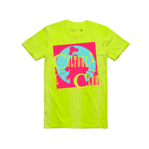 PHOTO NEON YELLOW TEE