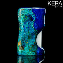 TFX-KERA Squonk Mod (ClickFet) - Stabilised And Dyed Oak Burr