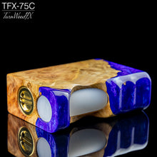 TFX-75C Regulated Squonk Mod (DNA75C) - Stabilised Coolibah Burl