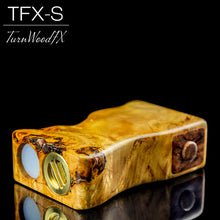 TFX-S Squonk Mod (SwitchFet V2) - Stabilised Linden Burl