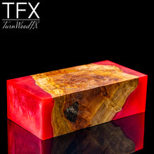 Stabilised Coolibah Burl Hybrid Wood Blank