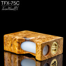 TFX-75C Regulated Squonk Mod (DNA75C) - Stabilised Maple Burl