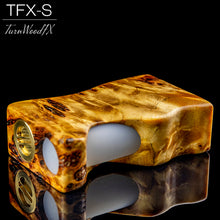 TFX-S Squonk Mod (SwitchFet V2) - Stabilised Black Poplar Burr