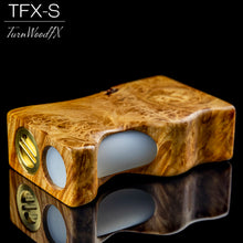 TFX-S Squonk Mod (SwitchFet V2) - Stabilised Maple Burl