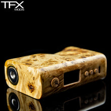 TFX-75C Regulated Squonk Mod (DNA75C) - Stabilised Linden Burl