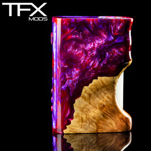 TFX-75C Regulated Squonk Mod (DNA75C) - Stabilised Red Mallee Burl