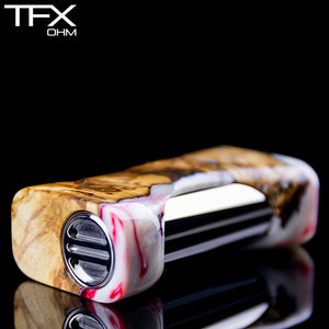 TFX-OHM Vape Mod (ClickFet) - Stabilised Spalted Horse Chestnut