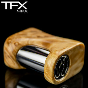 TFX-NIPA 18350 Vape Mod (ClickFet) - Stabilised Maple Burl