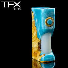 TFX-KERA Squonk Mod (ClickFet) - Stabilised Spalted Horse Chestnut