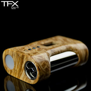 TFX CALI-S Regulated 18650 Squonk Mod (DNA75C) - Maple Burl