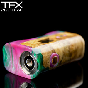 TFX-CALI - 21700 - DNA75C Regulated Mod - Stabilised Spalted Horse Chestnut
