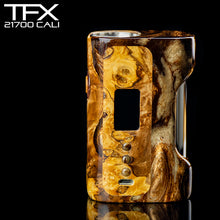TFX-CALI - 21700 - DNA75C Regulated Mod - Stabilised Poplar Burr